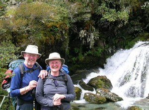 John and Irene in NZ - newtonmore guest house, newtonmore bed and breakfast